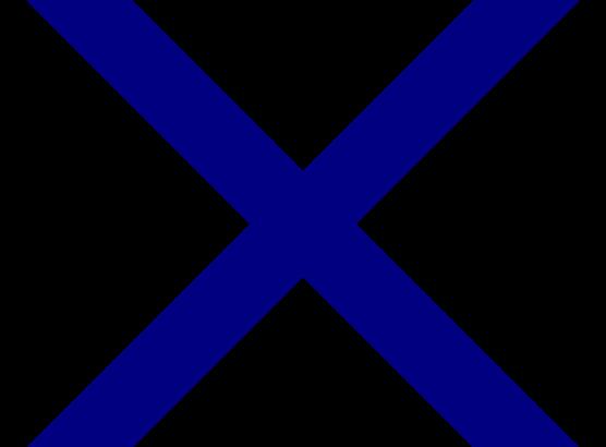 Croix Saint André